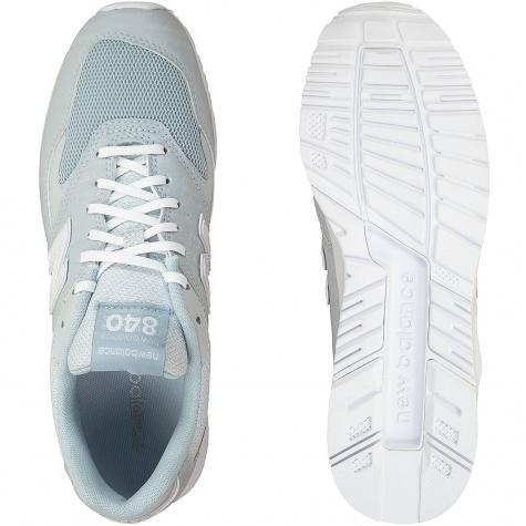 New Balance Damen Sneaker 840 Synthetik/Textil hellblau/weiß