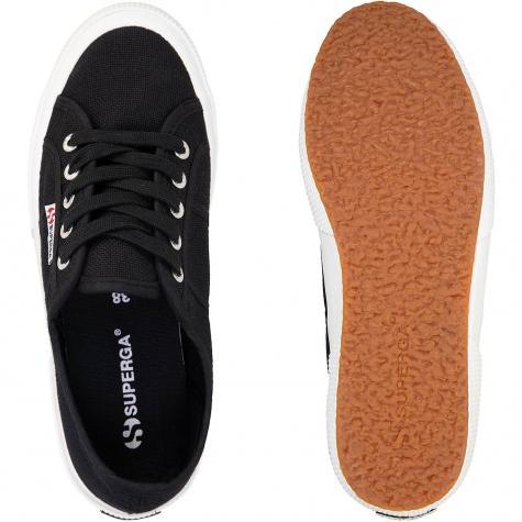 Superga Cotu Classic Canvas Damen Sneaker schwarz/weiß