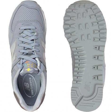 New Balance Sneaker ML574 D Textile/Synthetic grau