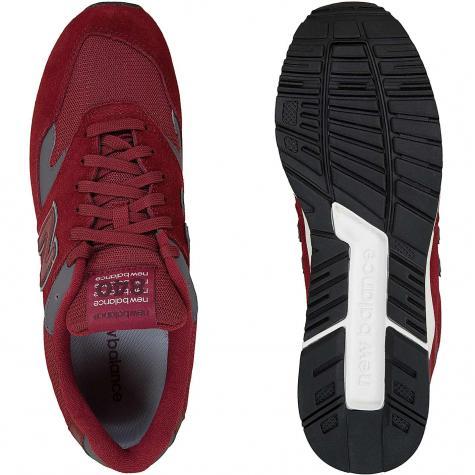 New Balance Sneaker 840 Microfibre/Mesh/PU weinrot