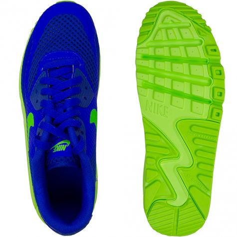 Nike Damen Sneaker Air Max 90 BR blau/grün