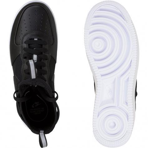 Nike Damen Sneaker Air Force 1 UF Mid schwarz/schwarz