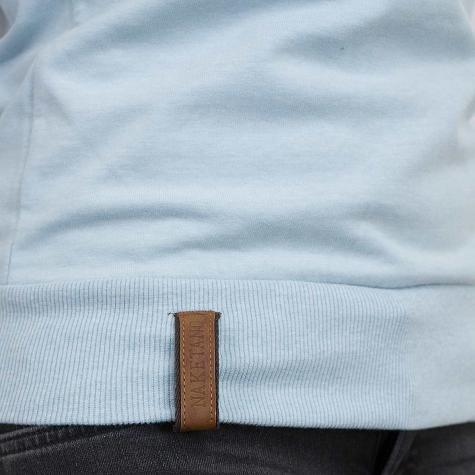 Naketano Damen-Sweatshirt Perverse II pastel blue/ash