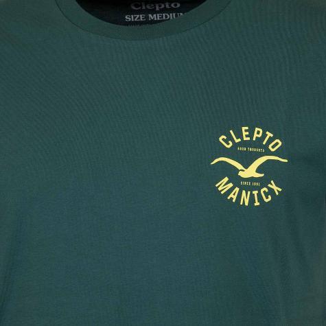 Cleptomanicx T-Shirt Game grün