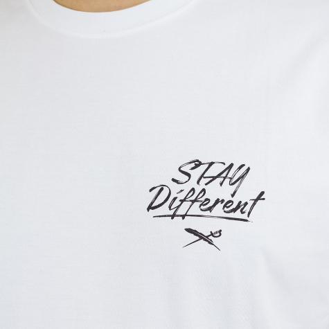 Iriedaily T-Shirt WTFucktus weiß