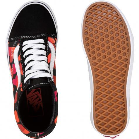 Vans Old Skool Valentines Hearts Damen Sneaker schwarz