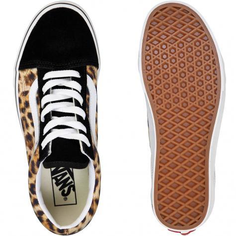 Vans Damen Sneaker Old Skool Leopard mehrfarbig