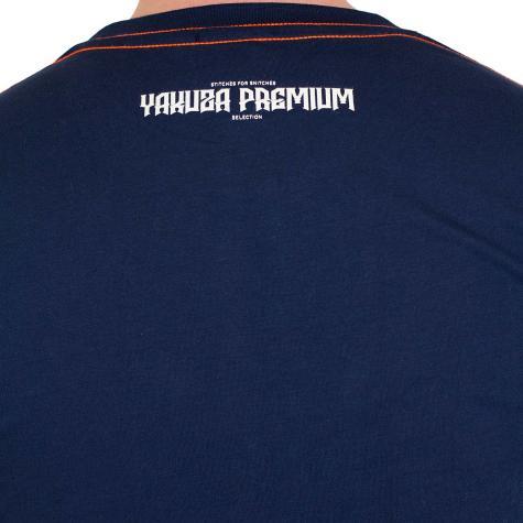 Yakuza Premium T-Shirt 2316 dunkelblau