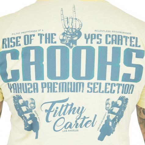 Yakuza Premium T-Shirt 2502 hellgelb