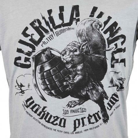 Yakuza Premium T-Shirt Vintage 400 hellgrau