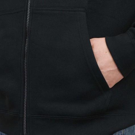 Nike Zip-Hoody NSW Sportswear FZ schwarz/weiß