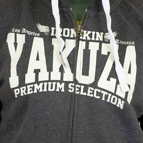 Yakuza Premium Zip-Hoody 2026 anthrazit