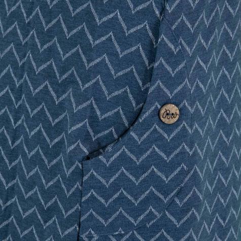 Ragwear Kleid Tag Zig Zag dunkelblau
