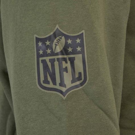 Hoody New Era NFL Digi Camo Green Bay Packers oliv