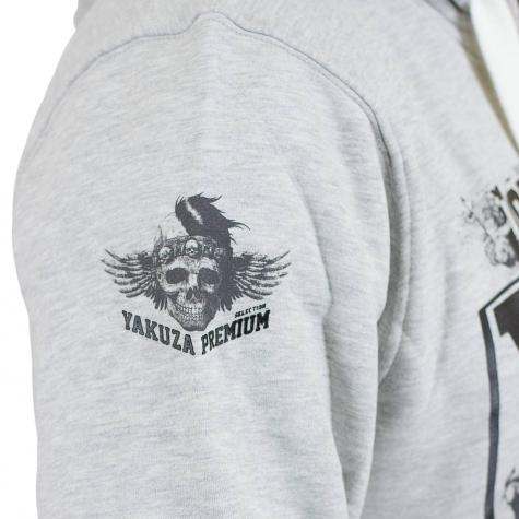 Yakuza Premium Hoody 2422 hellgrau