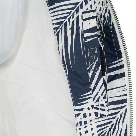 Iriedaily Damen Übergangsjacke Palm Spice blau/weiß