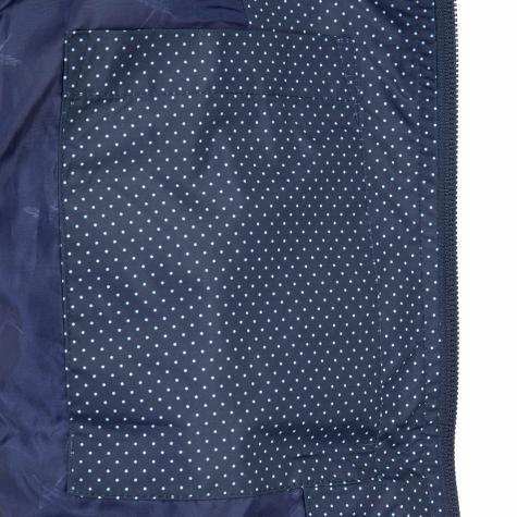 Iriedaily Damen Übergangsjacke Spice Dot dunkelblau