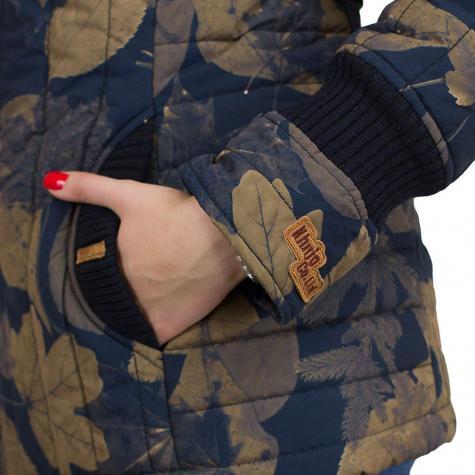 Khujo Damen Jacke Tweety Prime blau/beige