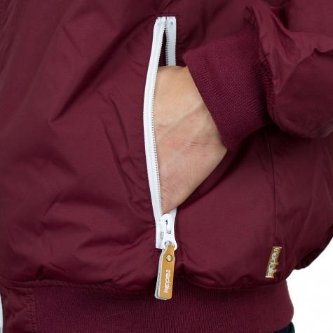 Iriedaily Insulaner Jacket maroon