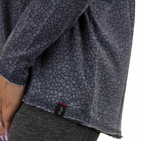 Khujo Damen Longshirt Ariana blau