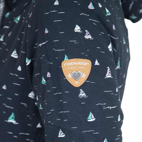 Ragwear Damen-Hoody Gripy Boats dunkelblau