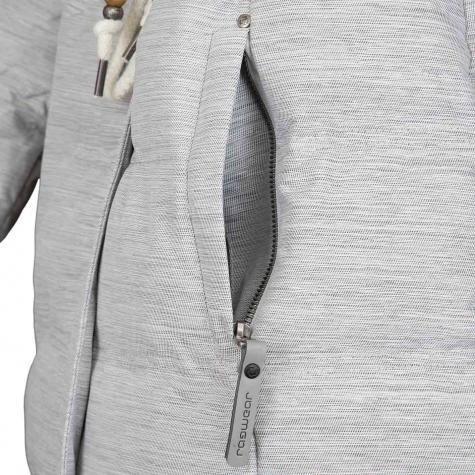 Ragwear Damen-Mantel Ashani Puffy B weiß