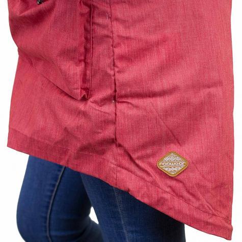 Ragwear Damen-Jacke Clancy chili red