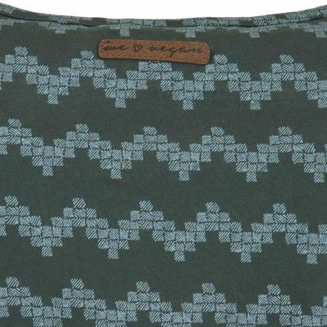 Ragwear Damen T-Shirt Mint Zig Zag grün