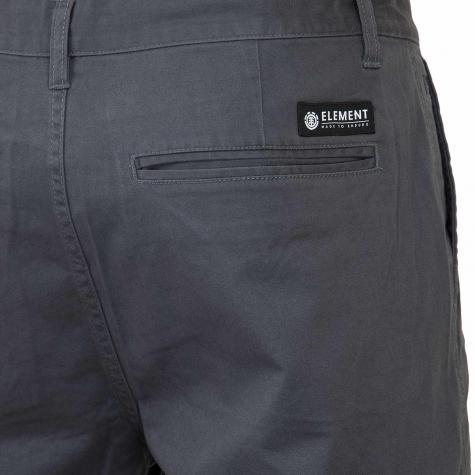 Element Shorts Howland asphalt
