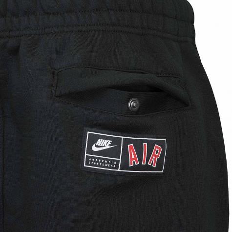 Nike Shorts Air Fleece schwarz/rot