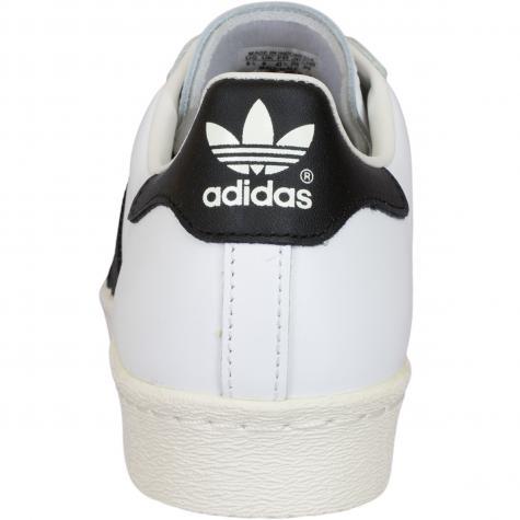 Adidas Originals Sneaker Superstar 80s weiß/schwarz