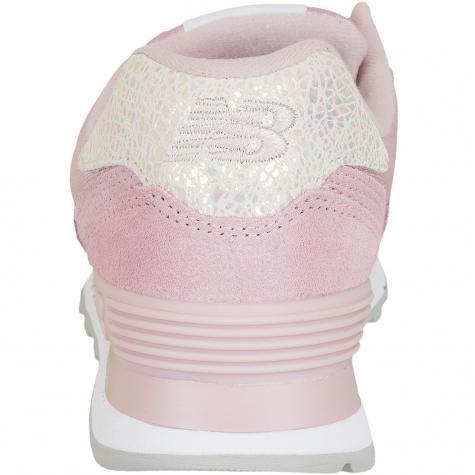New Balance Damen Sneaker WL574 B Suede/Mesh pink