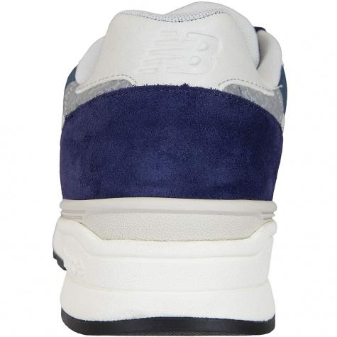 New Balance Sneaker 597 Wildleder/Textil/Synthetik dunkelblau