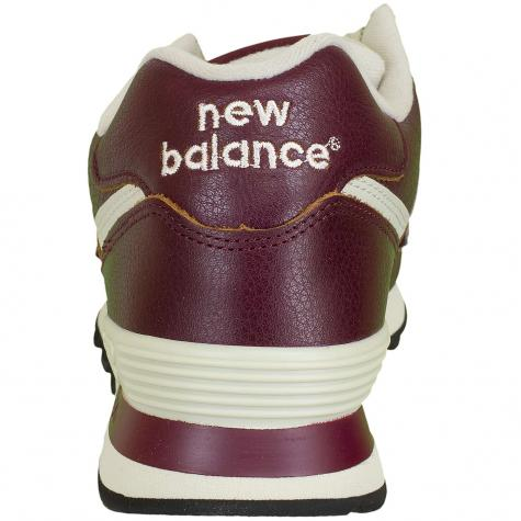 Nev Balance Sneaker ML574 D Leather/Synthetic bordeaux
