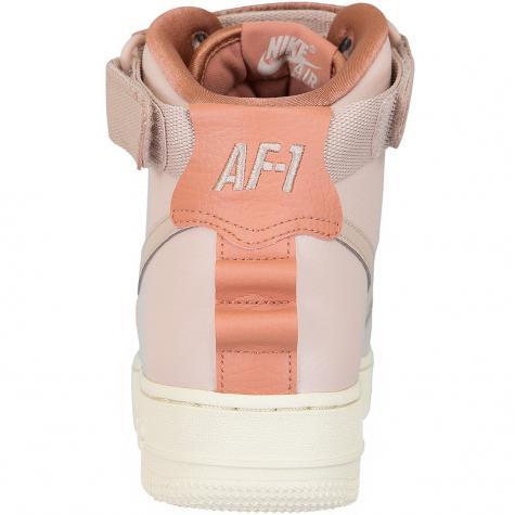 Nike Damen Sneaker Air Force 1 High Utility beige/rosa