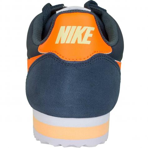 Nike Sneaker Cortez Nylon blau/orange
