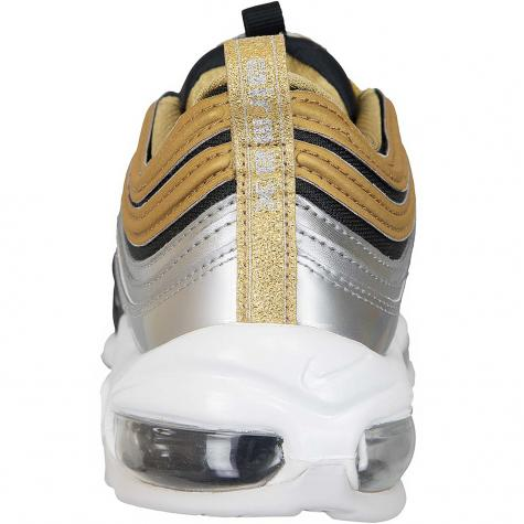 Nike Damen Sneaker Air Max 97 SE silber/gold