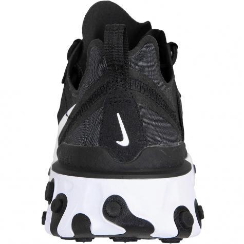 Nike Damen Sneaker React Element 55 schwarz