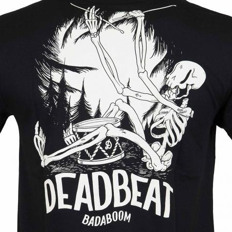 The Dudes T-Shirt Deadbeat schwarz
