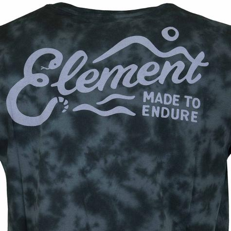 Element T-Shirt Valley flint schwarz