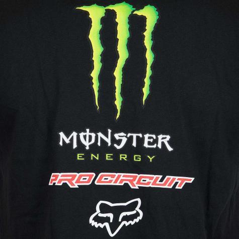 Fox T-Shirt Monster Pro Circuit schwarz