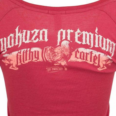 Yakuza Premium Damen T-Shirt 2630 rot
