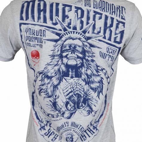 Yakuza Premium T-Shirt 2713 hellgrau