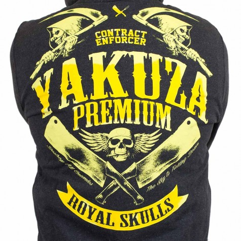 Yakuza Premium Zip-Hoody 1925 schwarz