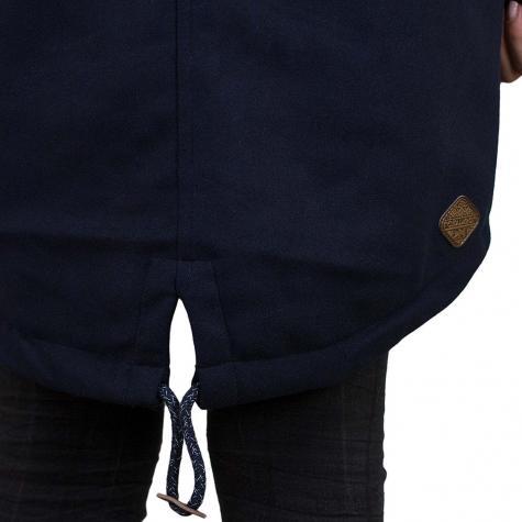 Ragwear Damen Mantel Elba dunkelblau