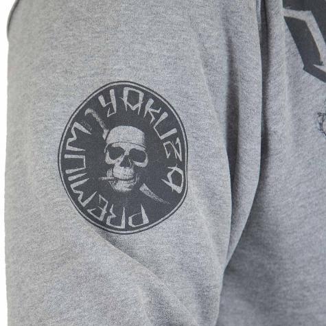 Yakuza Premium Zip-Hoody 2528 grau
