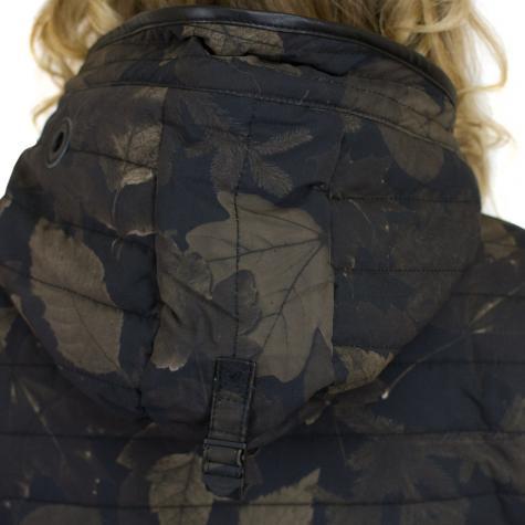 Khujo Damen Jacke Daily schwarz/braun