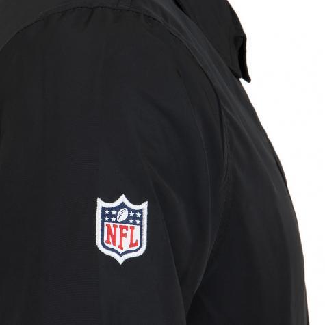 New Era Jacke Team Apparel NFL Coaches Oakland Raiders schwarz
