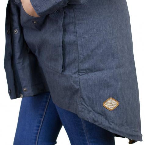 Ragwear Damen-Jacke Clancy dunkelblau