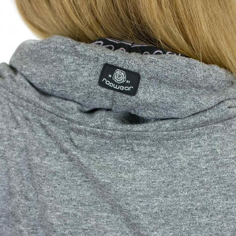 Ragwear Damen Sweatshirt Chenay schwarz meliert